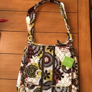 New with Tags Vera Bradley Cocoa Moss Mailbag